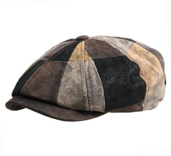 Leather Patchwork Stetson